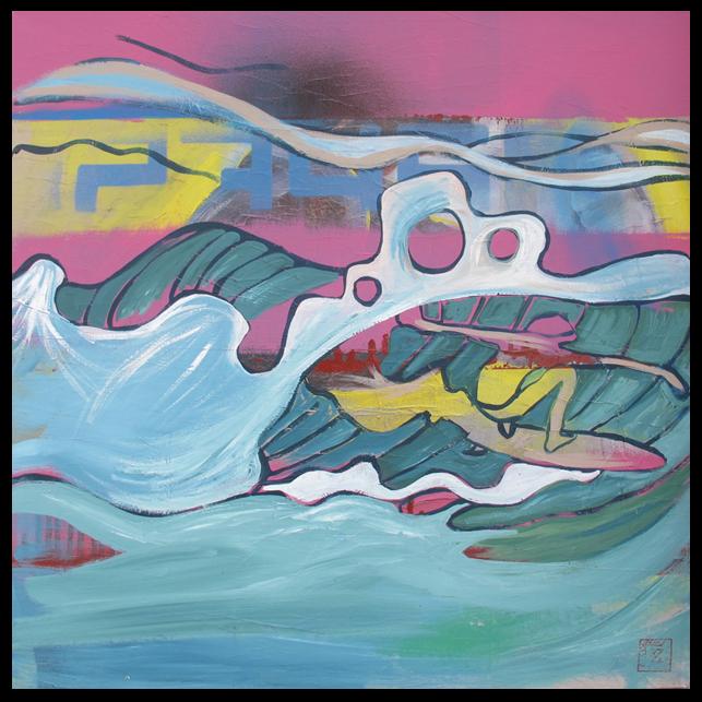 Iza's Surf paintings