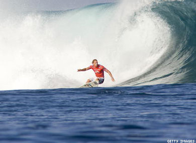 Beached by homophobia; how Robbins Thompson caught a wave of antigay sentiment and quit the professional surfing circuit.