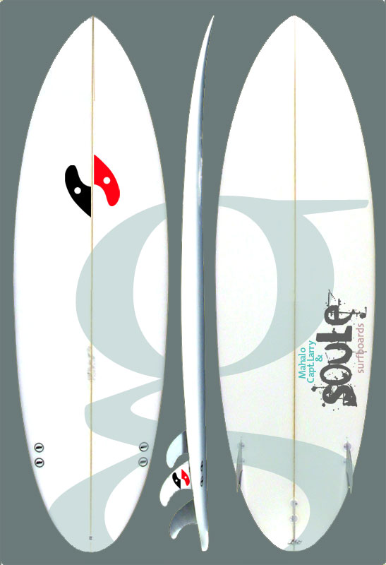 The 1st GS surfboard