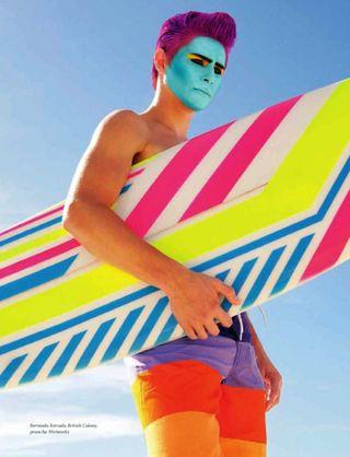Fluo surfer
