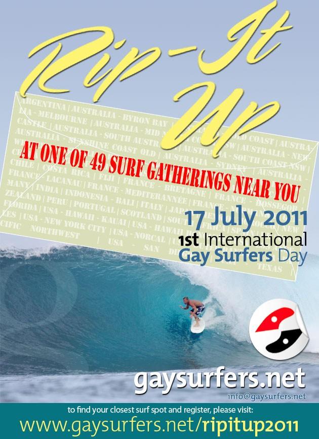 1st International Gay Surfers DAY