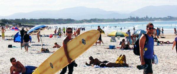 Facebook Curse visits Byron Bay