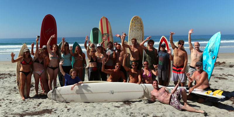 Want to invite other surfers to a surf session ?