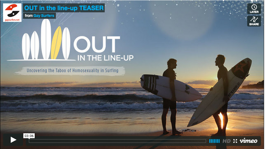 """""""Out in the line-up"""""""