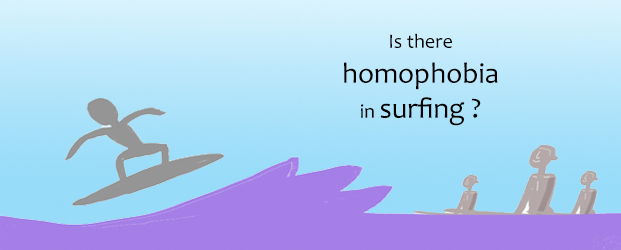 Is there homophobia in surfing ? by Clifton Evers