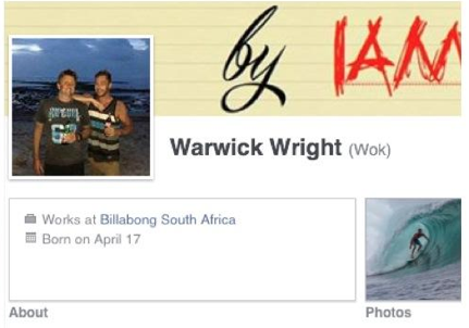 Warwick-BillSA