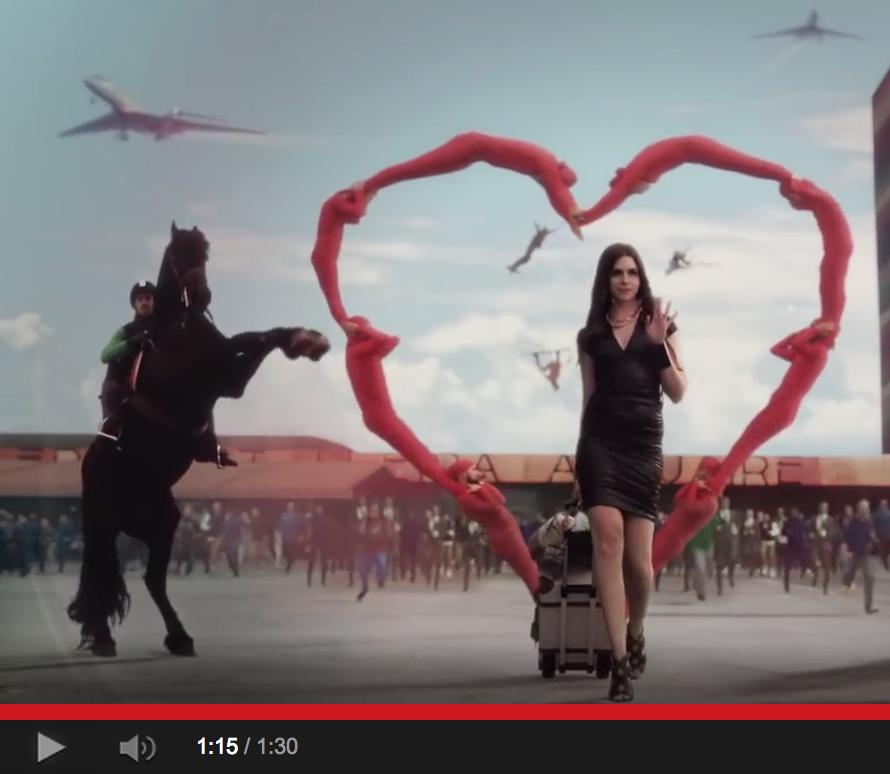 Sports advert slams Russia anti-gay law: video