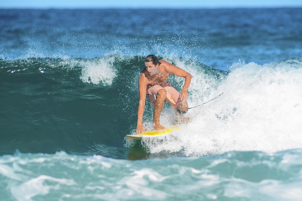 He's gay, he's a surfer – get over it