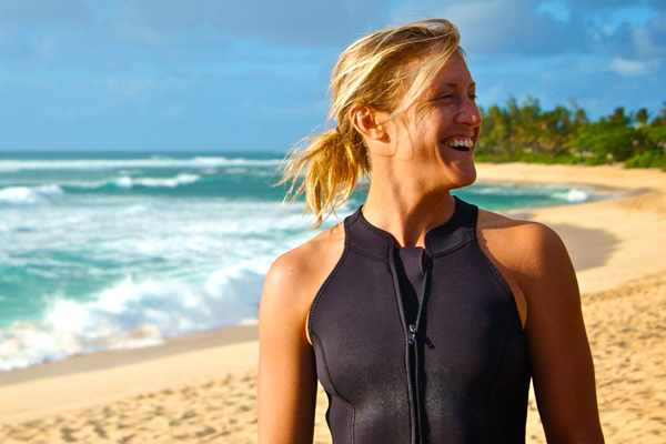 Cori Schumacher was the first surfing champion to reveal her sexuality. Photo: Maria Cerda