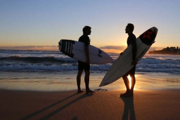 Out In The Lineup explores homophobia faced by gay surfers.
