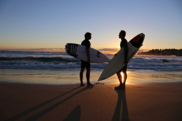 Out In The Lineup plays a significant role in killing homophobia in surfing. Photo: Out In The Lineup