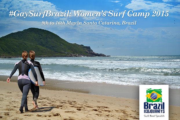 Gay Surf Brazil: Women's Surf Camp 2015