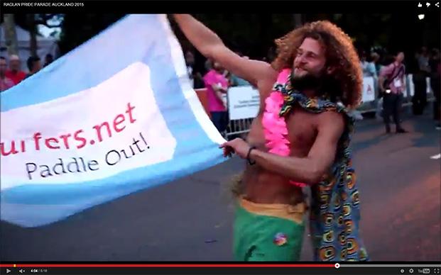 GS at Raglan Pride (New Zealand) VIDEO