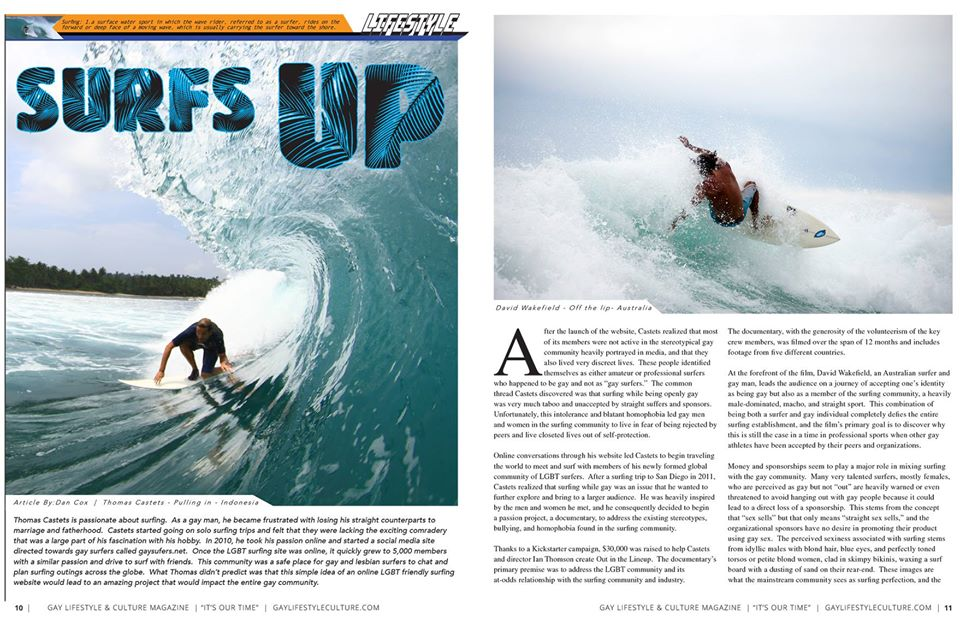 Feature article in new GLC magazine