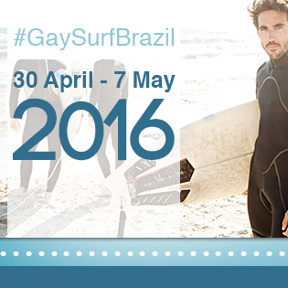 GaySurfBrazil: LGBT Surf Camp 2016