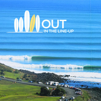 """Screening of """"OUT in the line-up"""" in RAGLAN, New Zealand"""