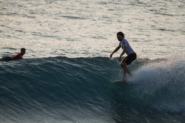 Craig Butler competing in Taiwan © Andrew Carruthers via Facebook