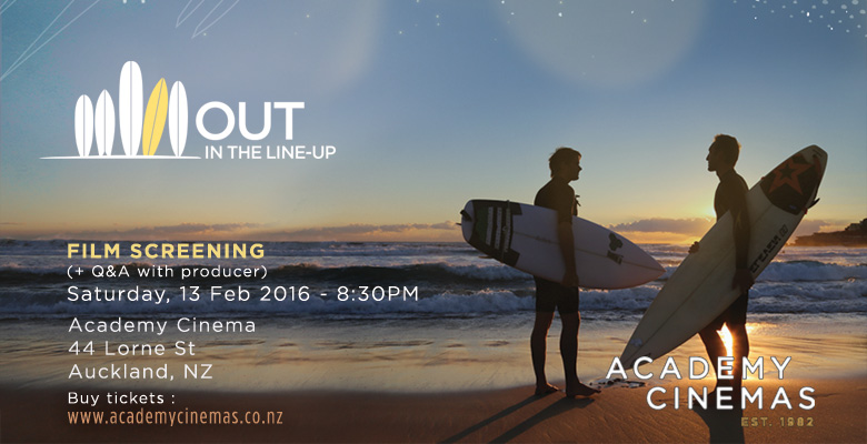 """2 screenings of """"OUT in the line-up"""" in New Zealand"""