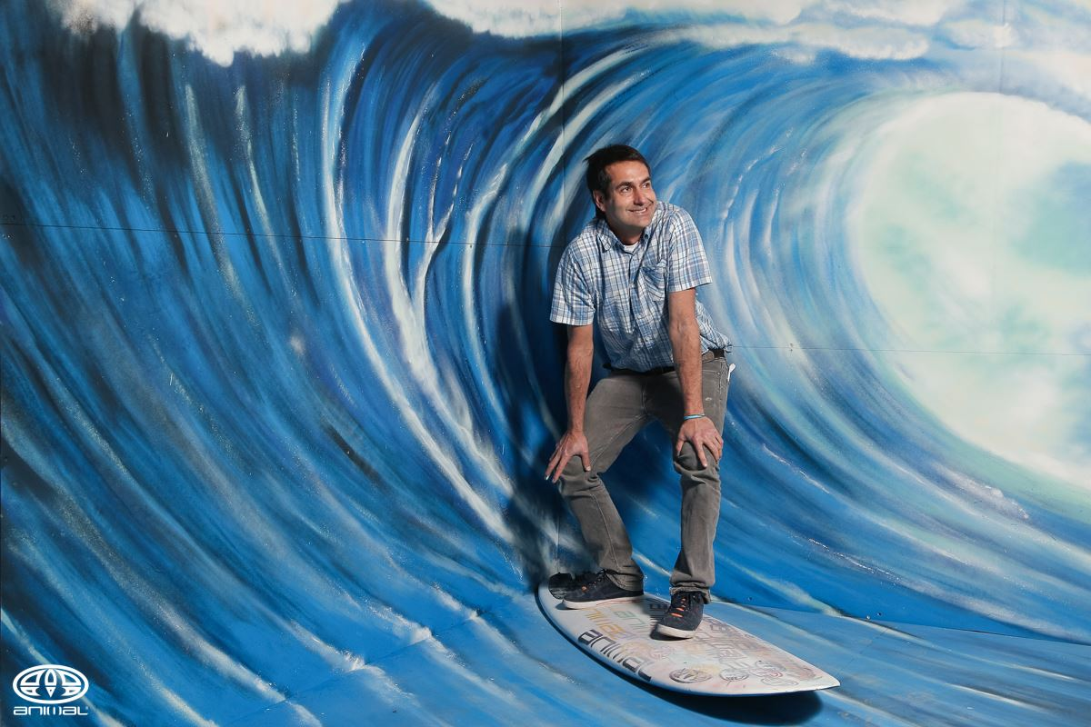 Artist surfer from Greece