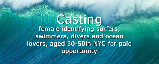 Casting Queer female surfer for car adversting NYC