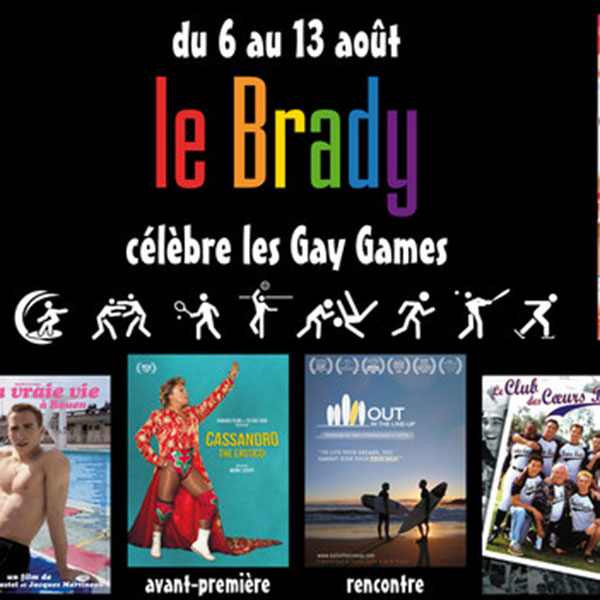 OUT IN THE LINE-UP screening in Paris for the Gay Games 2018